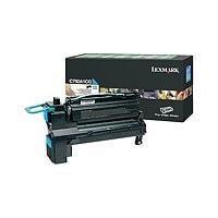 Lexmark C792,X792 Return Program 6K Print Cartridge - Cyan