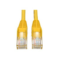 Tripp Lite 7ft Cat5e Cat5 Snagless Molded Patch Cable RJ45 M/M Yellow 7'