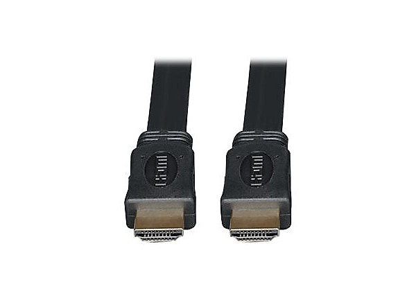 Tripp Lite 16ft High Speed HDMI Flat Cable Digital Video w/ Audio M/M 16'