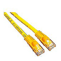 APC patch cable - 25 ft - yellow