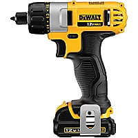 "Dewalt 12V Max 0.25"" Screwdriver Kit"