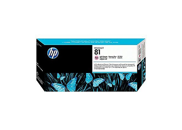 HP 81 Light Magenta Dye Printhead/Cleaner (C4955A)