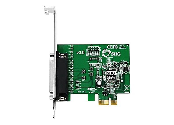 Siig cyberparallel pci