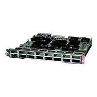 Cisco 16-Port 10 Gigabit Ethernet Fiber Module with DFC4 - expansion module