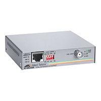 Allied Telesis AT MC606 - media converter - 10Mb LAN, 100Mb LAN, Ethernet o