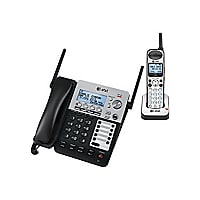 AT&T SynJ SB67138 - cordless phone - answering system with caller ID/call w