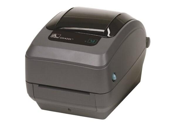 Zebra GK Series GK420t - label printer - monochrome - direct thermal / ther