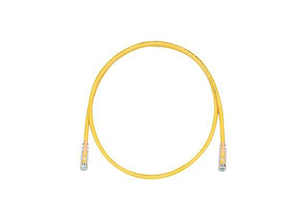Panduit TX5e patch cable - 20 ft - yellow