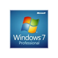 Microsoft Windows 7 Professional w/SP1 - license and media