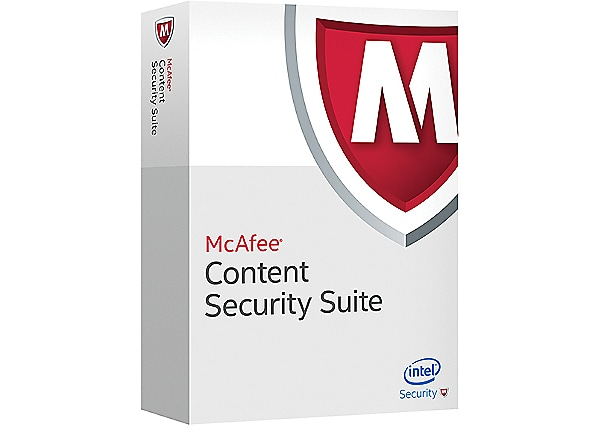 McAfee Content Security Suite - subscription license (1 year) + 1 Year Gold