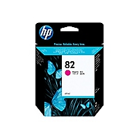 HP 82 Magenta Inkjet Print Cartridge (C4912A)