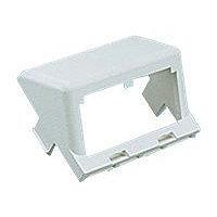 Panduit MINI-COM modular facility plate snap-in