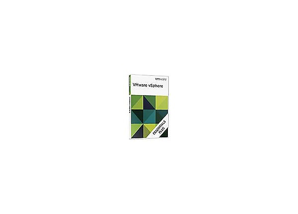 VMware vSphere Essentials Plus Kit (v. 5) - license - 3 hosts