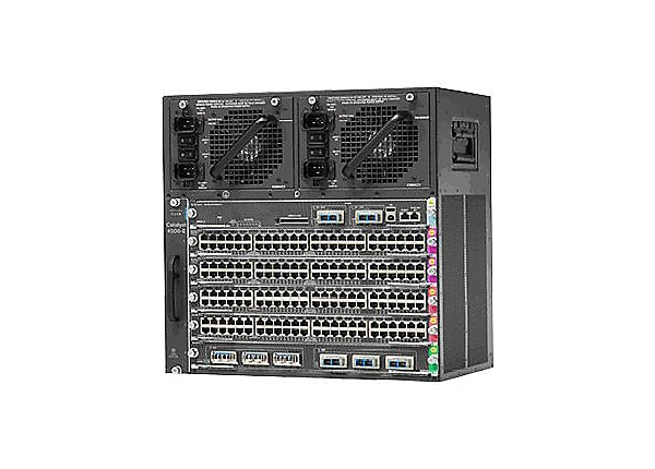 Cisco Catalyst 4506-E - switch - 96 ports - managed - rack-mountable - with