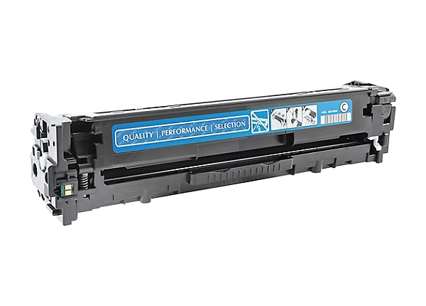 Clover Remanufactured Toner for HP CE321A (128A), Cyan, 1,300 page yield