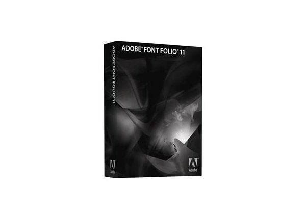 Adobe Font Folio (v. 11.1) - version / product upgrade license - 1 user