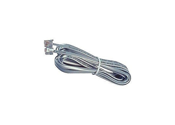 Allen Tel phone cable - 14 ft - satin silver