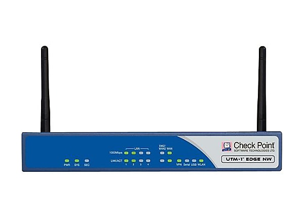 Check Point UTM-1 Edge NW - security appliance - with 1 year TotalSecure