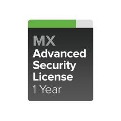 Cisco Meraki MX60 Advanced Security - subscription license (1 year) - 1 lic