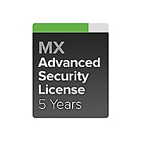 Cisco Meraki MX70 Advanced Security - subscription license (5 years) - 1 li
