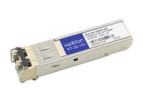 AddOn Cisco GLC-GE-100FX Compatible SFP Transceiver - SFP (mini-GBIC) trans