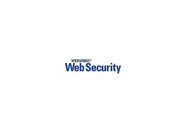 Websense Web Security - subscription license (3 years) - 1 additional seat