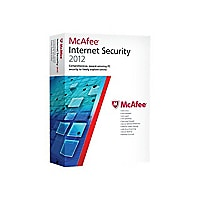 McAfee Internet Security 2012 - box pack (1 year) - 1 PC