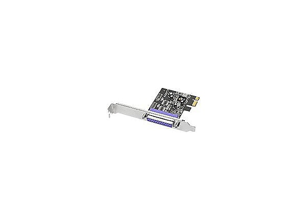 SIIG DP 1-port ECP/EPP Parallel PCIe - parallel adapter