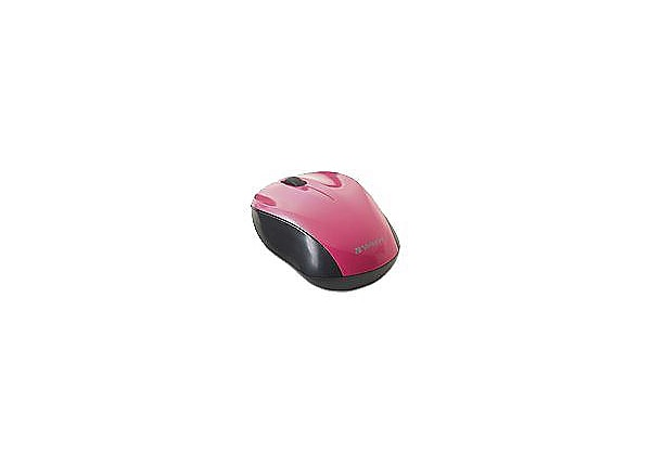 Verbatim Nano Wireless Notebook Optical Mouse - mouse - 2.4 GHz - pink