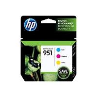HP 951 Tri-color Ink Cartridge