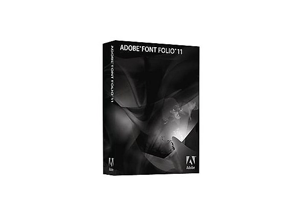 Adobe Font Folio (v. 11.1) - version upgrade license - 1 user