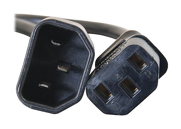C2G Computer Power Cord Extension - power extension cable - 1.5 m