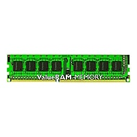 Kingston ValueRAM - DDR3 - module - 8 GB - DIMM 240-pin - 1333 MHz / PC3-10