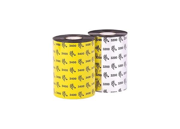 Wax/Resin Ribbon, 3.31inx244ft, 5555 Standard, 0.5in core