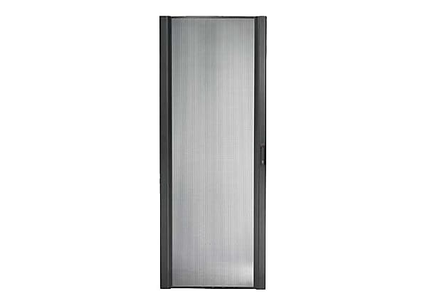 APC NetShelter SX Perforated Curved Door - rack door - 45U