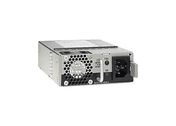 Cisco AC Power Supply with Back-to-Front Airflow - power supply - hot-plug