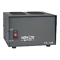 Tripp Lite DC Power Supply Low Profile 10A 120V AC Input to 13.8V DC Output