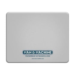 Man & Machine Silicone Mouse Pad - mouse pad