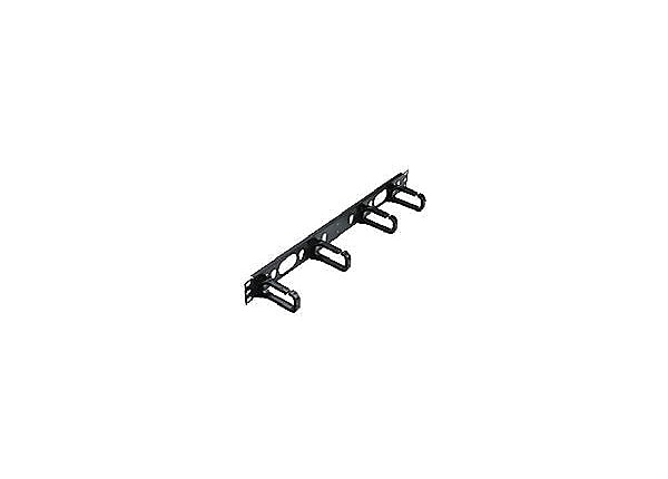 Panduit Open-Access Horizontal Cable Manager - cable management ring - 1U