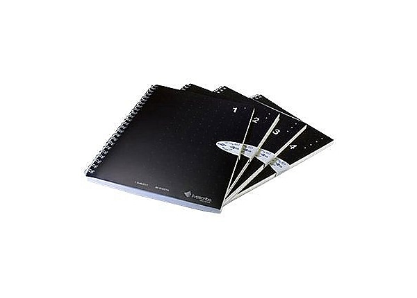 Livescribe Single Subject A5 Size Notebook Numbers 1 through 4 - dot paper