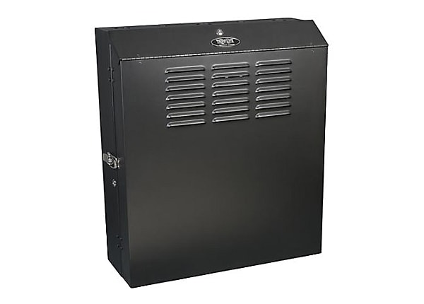 "Tripp Lite 5U Wall Mount Rack Enclosure Cabinet Low Profile 20"" Deep Switch"