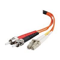C2G LC-ST 62.5/125 OM1 Duplex Multimode PVC Fiber Optic Cable (LSZH) - patc