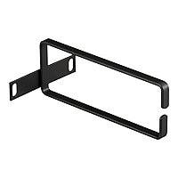 Black Box Rackmount Ring Bracket - rack cable management ring - 2U