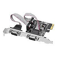 SIIG 2 Port RS232 Serial PCIe with 16950 UART - serial adapter
