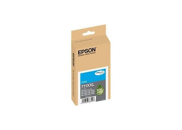 Epson 711XXL - XL - cyan - original - ink cartridge