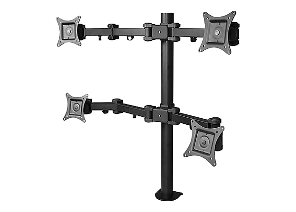 Siig Articulating Quad Monitor Desk Mount Mounting Kit