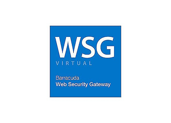 Barracuda Web Security Gateway 610VX Additional Core License - subscription license (5 years) - 1 license
