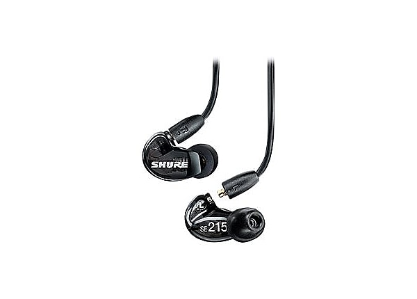 Shure SE215 Sound Isolating Earphones - earphones