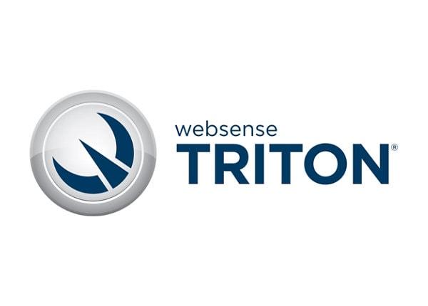 TRITON Enterprise - subscription license renewal (2 years) - 1 seat