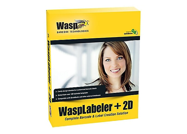 WaspLabeler +2D - box pack - unlimited users